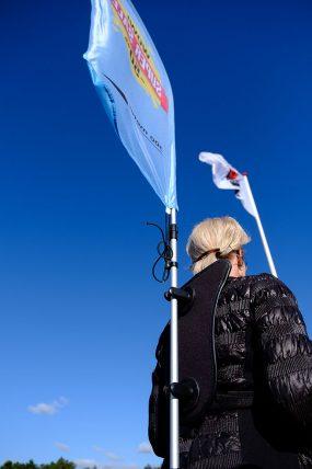 Backflag beachflag reklame banner